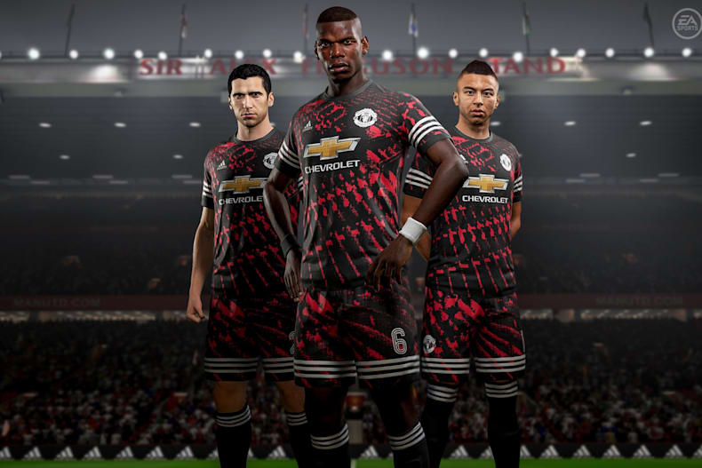 manchester united have got a new kit and it s only in fifa 18 manchester united have got a new kit