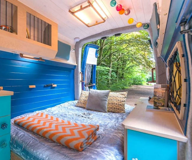 Turning a normal van into a campervan isn't easy but it's possible