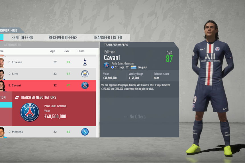 Best Free Agents Fifa 20 The 11 Best Free Transfers