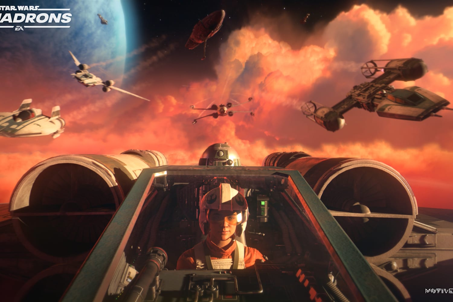 Become a Red (Five) Baron with these Star Wars Squadrons dogfighting tips - Red Bull