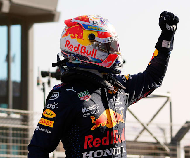 With the pressure on, Verstappen delivered at home
