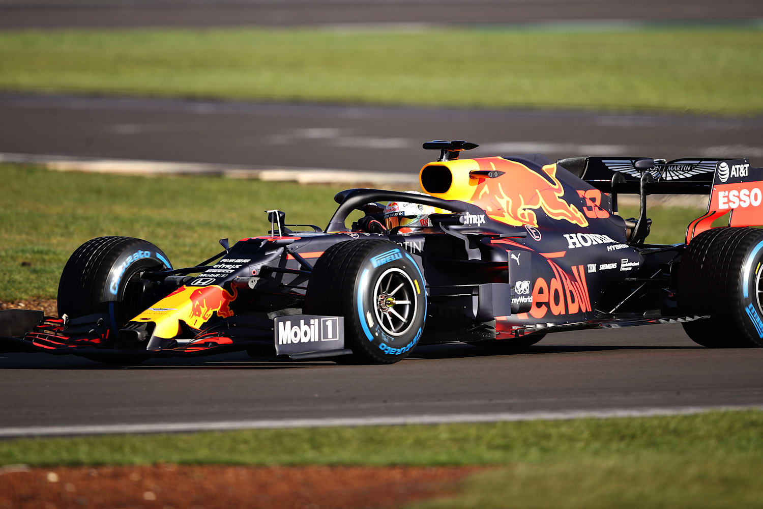 Formula One Aston Martin Red Bull Racing Launch Rb16