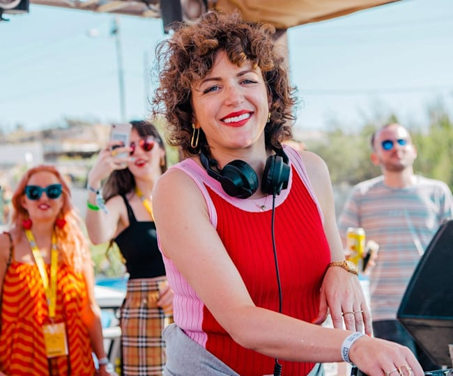 Annie Mac DJs at AMP Lost & Found