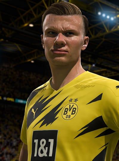 Haaland abre la lista de los 100 mejores jugadores de FIFA 21