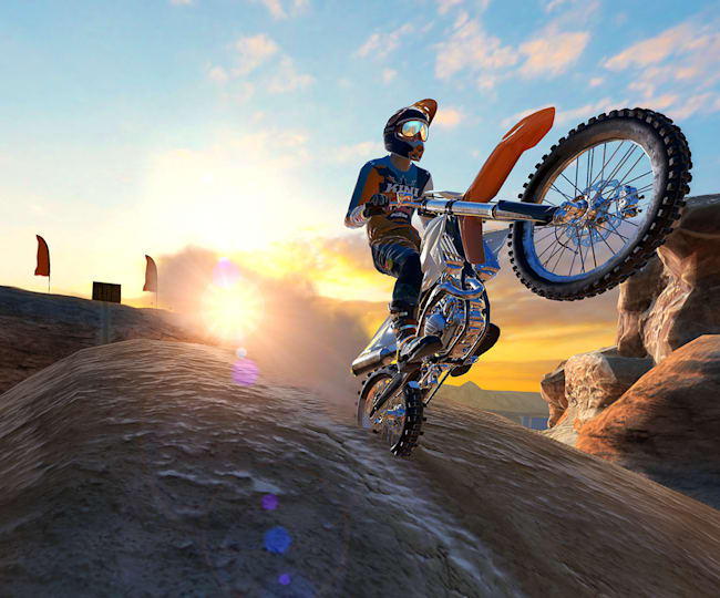Dirt Bike Unchained aims to nail the feeling of being a pro rider