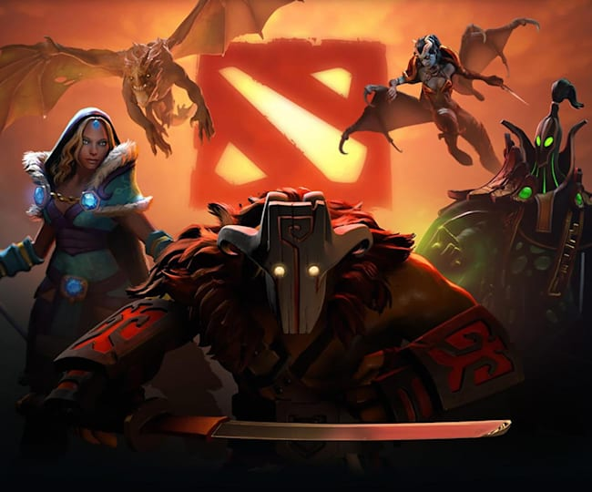 Heroes in the Dota 2 game