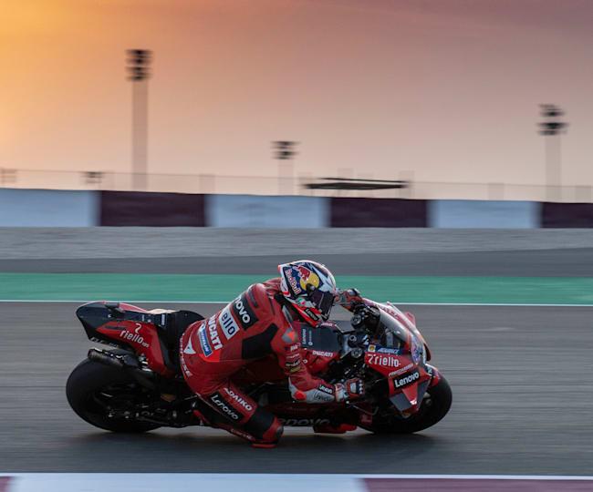 Ducati's Jack Miller ended up fastest in MotoGP™ testing