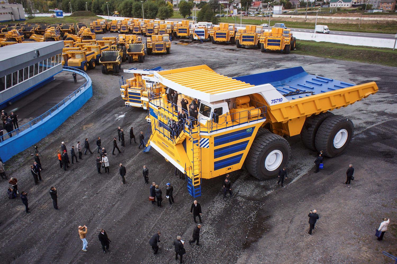 Größter Truck der Welt gesucht? Diese 5 sind Giganten!