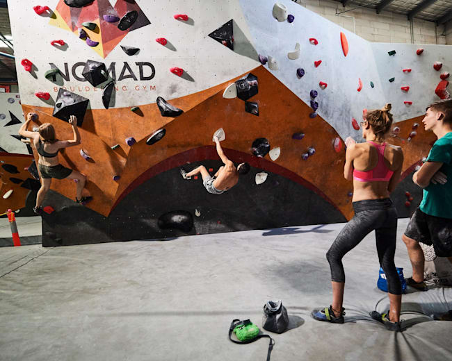 Bouldering cover