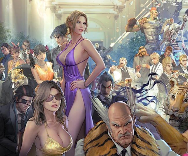 Bandai Namco's promotional art for Tekken 7's 3 million sales achievement
