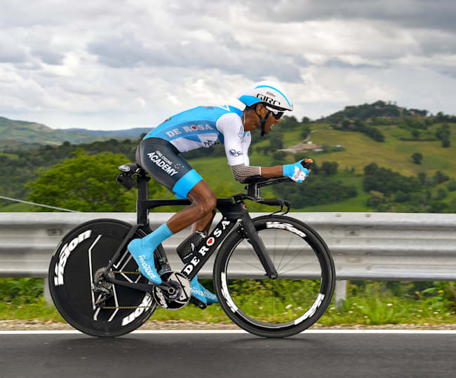 Gebremedhin rode as a pro for Israel Cycling Academy from 2018 to 2020.