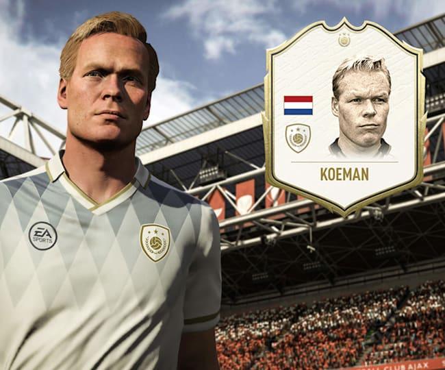 Koeman to jedna z gwiazd FIFA 20 - kto pojawi się wśród Ikon FUT 21?
