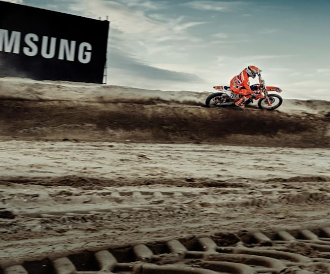 Red Bull Knock Out met een Samsung Galaxy S9+