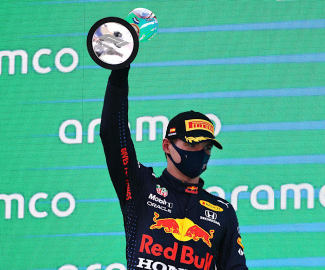 Vier Rennen, viermal Podium für Verstappen.