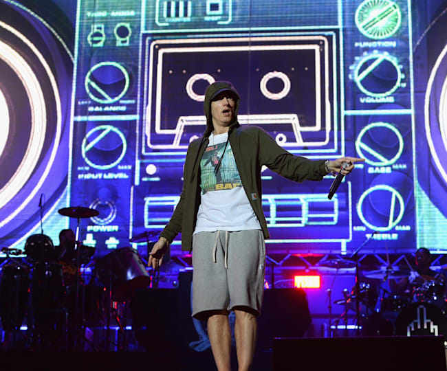 Eminem na Lollapalooza