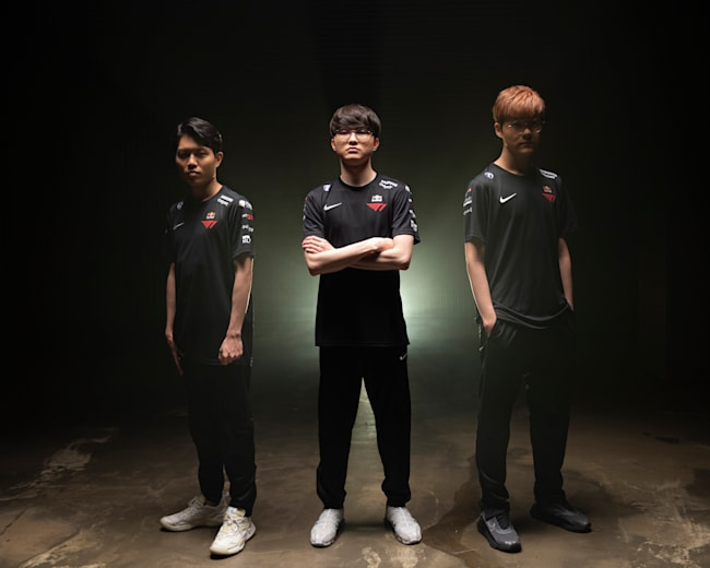 Faker and T1 are now part of the Red Bull family