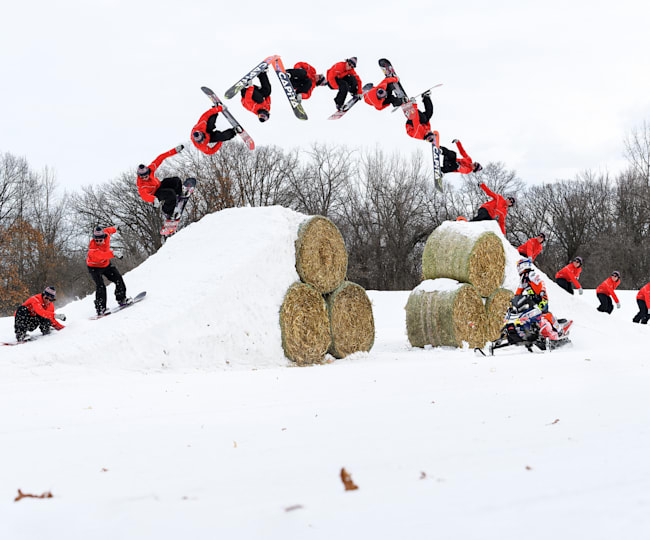 Benny Milam Nails a Double Backflip at Red Bull Barn Burners in Elk River