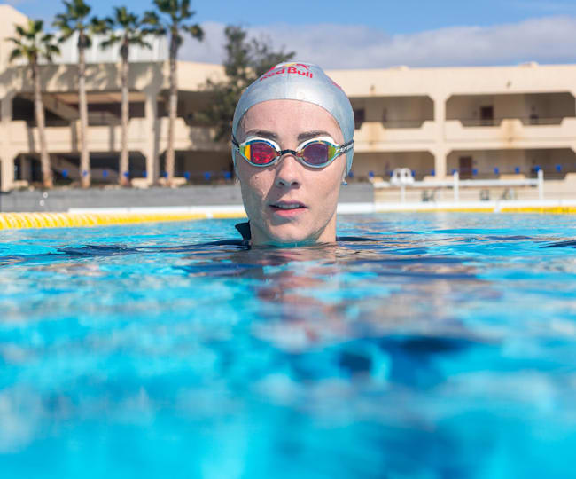 Swimming training aids –Lucy Charles' top five