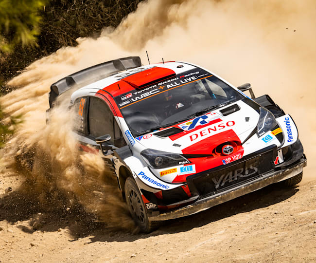 It was a Greek classic from Kalle Rovanperä at the Acropolis Rally