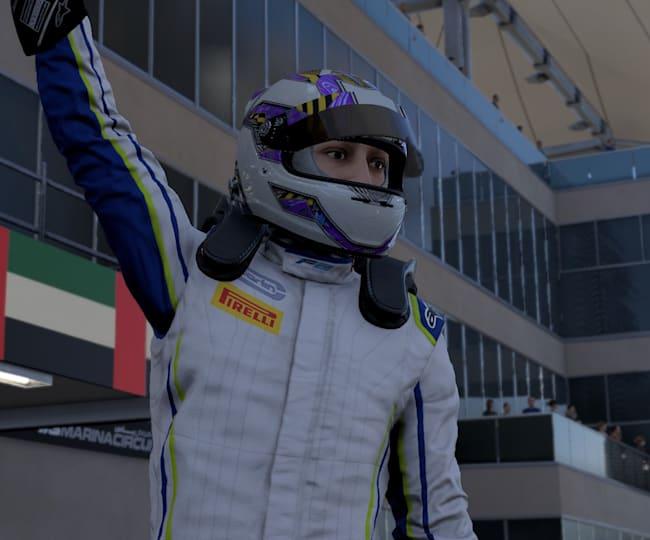 F1 2021 Breaking Point Jackons wint race