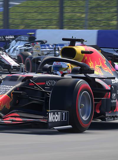 Max Verstappen dans le jeu F1 2020