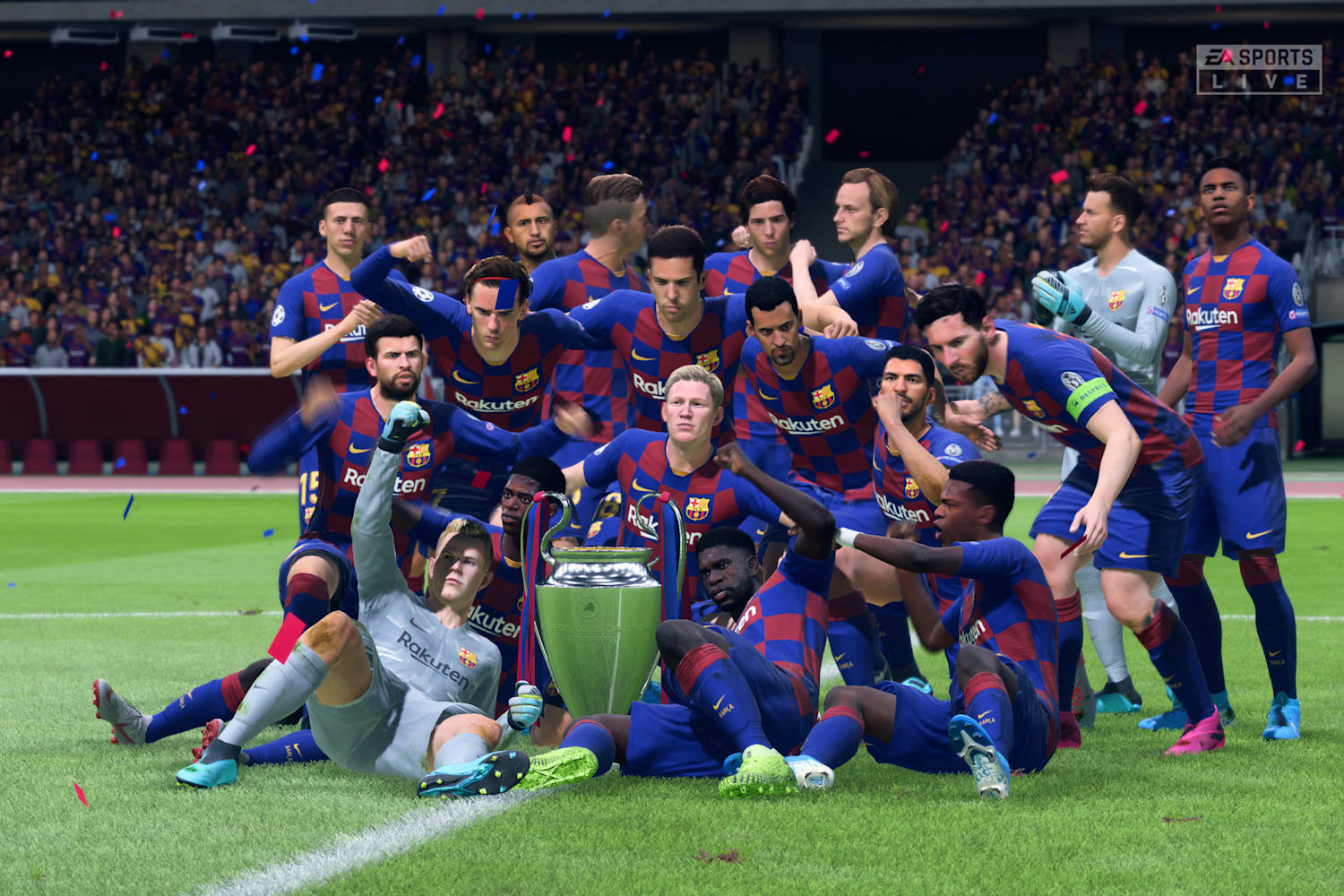 Fifa 20 Barcelona Tips Guide How To Play As Barca