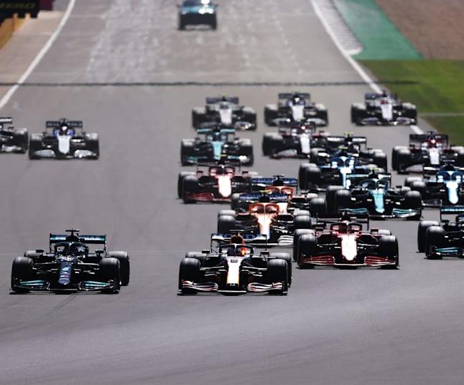 La partenza del GP d'Inghilterra