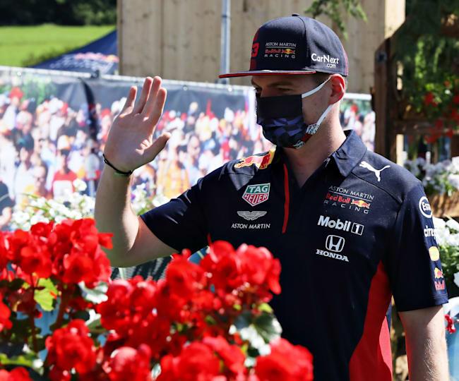 Max Verstappen: Say hello