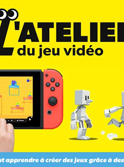 L'Atelier du jeu vidéo sur Nintendo Switch