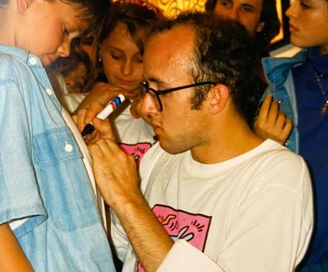 David Neirings & Keith Haring
