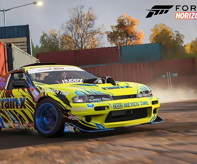 Drifting in Forza Horizon 4
