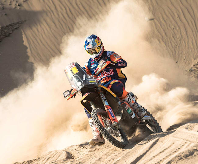 Toby Price is now a two-time Dakar champion