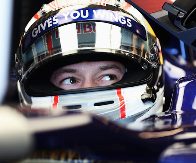 Daniil Kvyat's virtual hot lap of Sochi on F1 2014