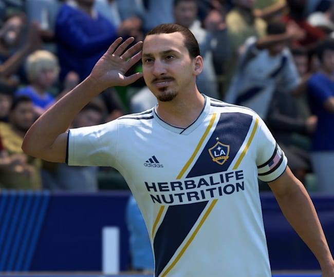Ibra's Flashback item includes 99 strength, shot power and heading accuracy