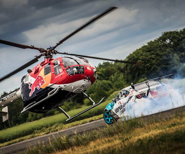 Red Bull Heli Drifting in Poland