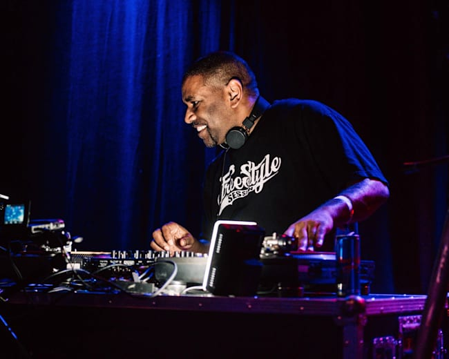 DJ Renegade at Red Bull BC One in Antwerp