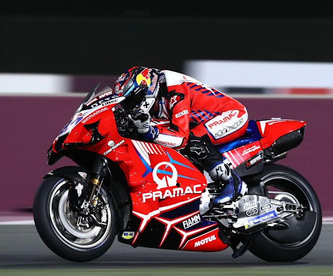 Jorge Martín needed just two Grands Prix to get on the MotoGP? podium