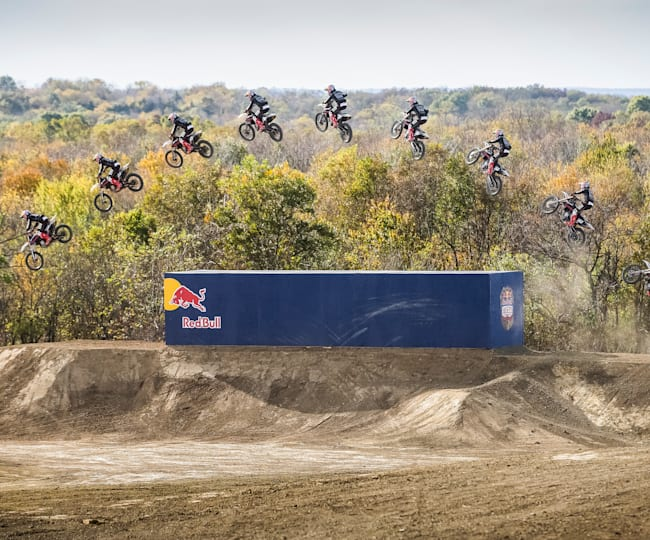 Tyler Bereman competes in Red Bull Imagination