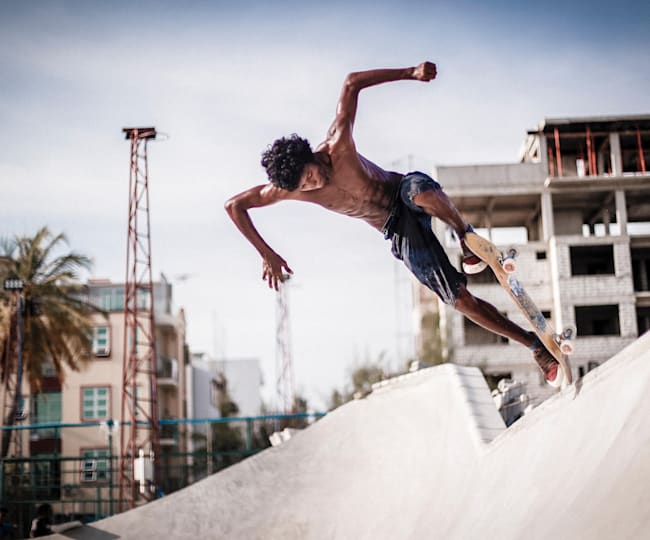 Ten Questions with Shaahil - Skateboarder