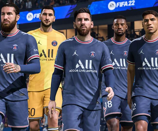 Les recrues du PSG dans FIFA 22