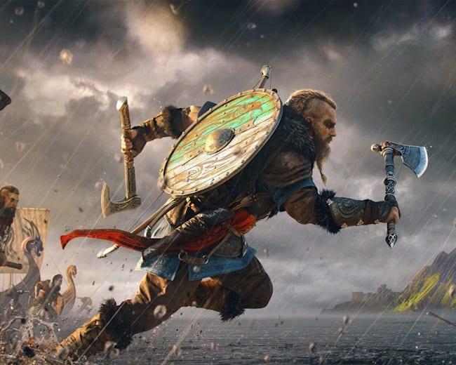 Eivor to wiking zaprawiony w wojaczce, bitwach na obelgi oraz... ucztowaniu