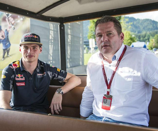 Max Verstappen et son père Jos Verstappen