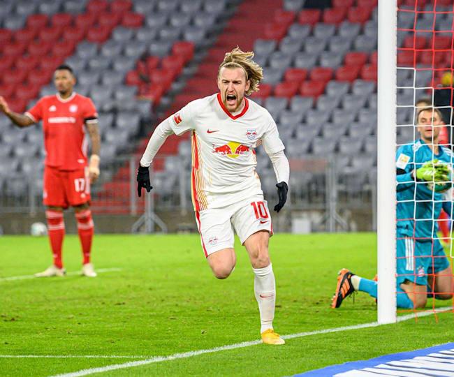 RB Leipzig-Spieler Emil Forsberg