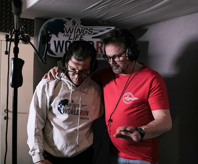 Wings for Life World Run: Mario Petreković i Boris Mirković