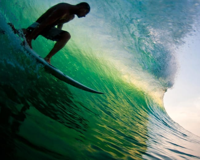 Six Best Surf Waves For Getting Barreled In Summer