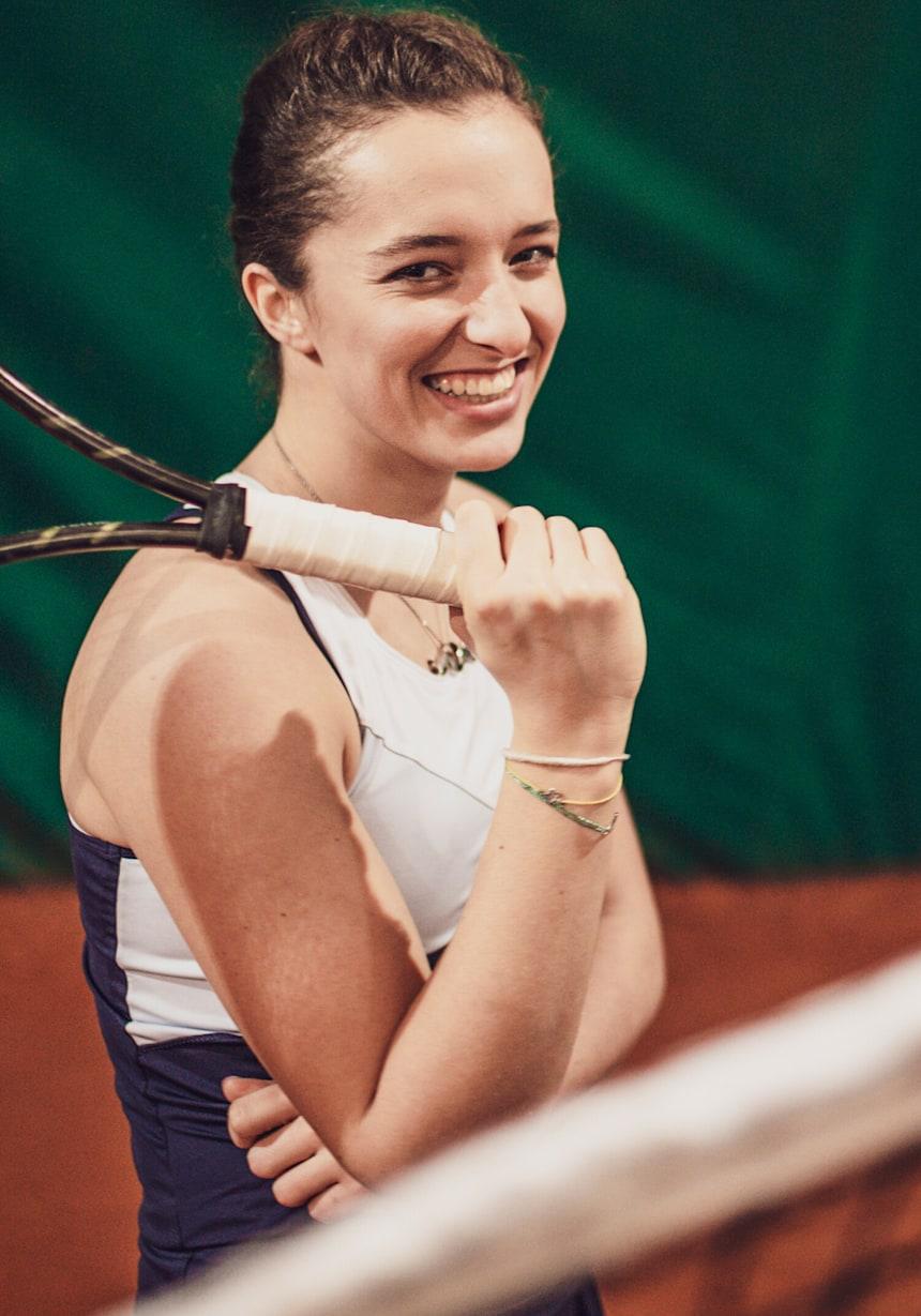 Iga Swiatek Tennis Red Bull Athlete Profile