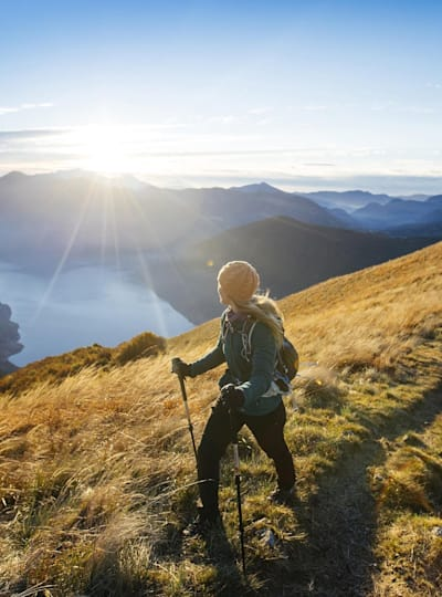 Hiking is a great way to boost your mental fitness