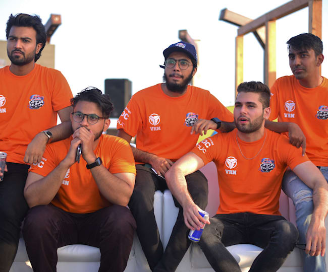 Team MAXD Esports at the National Finals of Red Bull Campus Clutch Pakistan