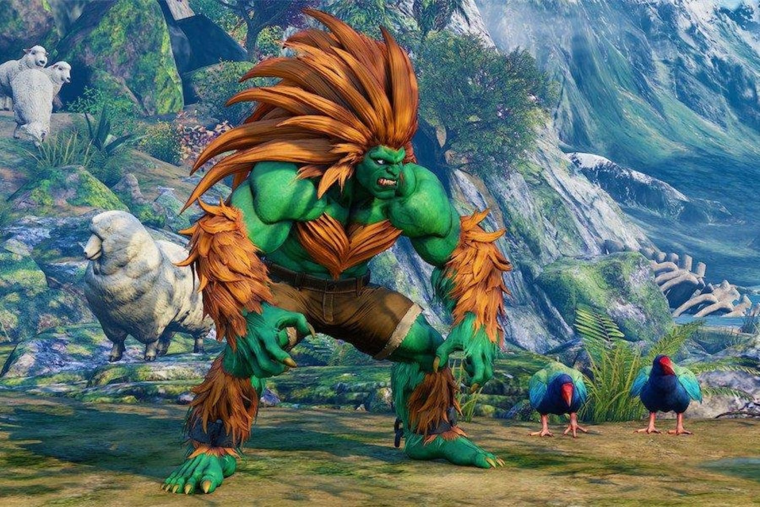 Street Fighter 5 Blanka Guide How To Master The Champ
