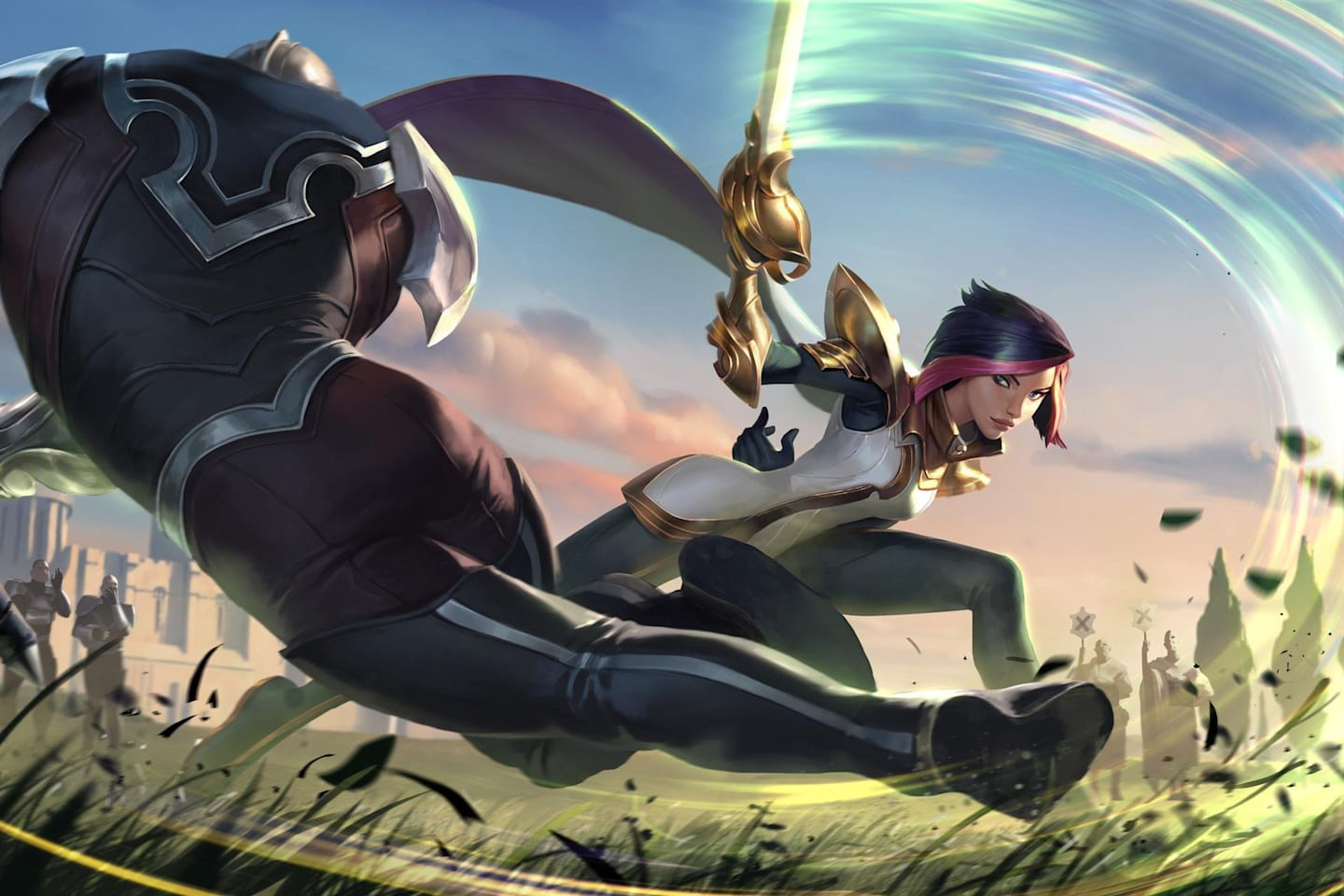 League of Legends champion Fiora in Legends of Runeterra